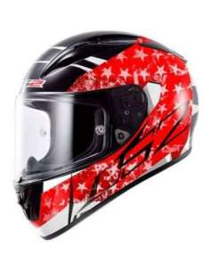 CASCO LS2 FF323 ARROW R STRIDE NEGRO-ROJO M