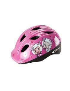 CASCO BICI GES JUNIOR CHEEKY ROSA