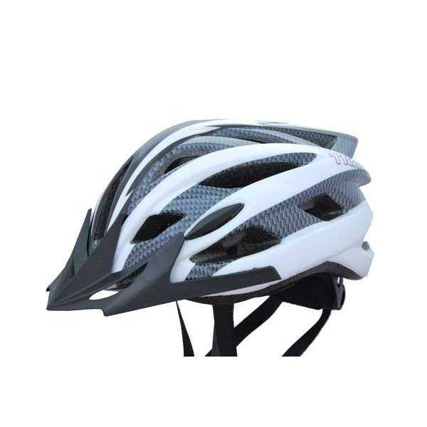 CASCO BICI ASPID BLANCO T/M