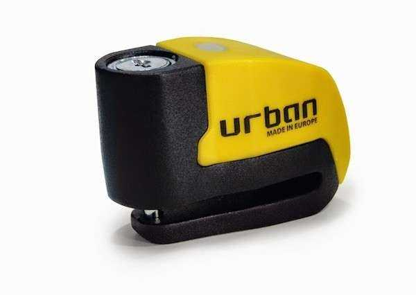 CANDADO URBAN DISCO + ALARMA WARNING 6MM