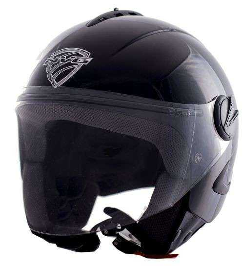 CASCO NVG JET 66 NEGRO BRILLO