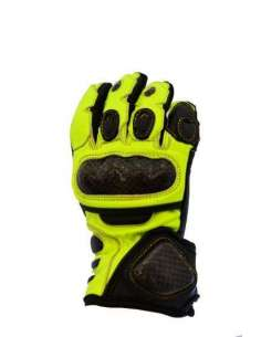 GUANTES NVG RACING JUNIOR NEGRO AMARILLO