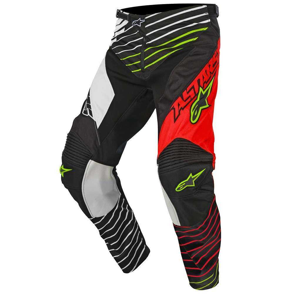 PANTALON ALPINESTARS RACER BRAAP 17 JUNIOR ROJO