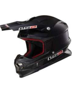 CASCO LS2 MX456 LIGHT SOLID NEGRO MATE