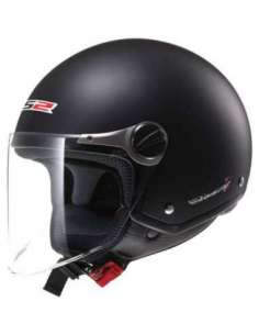 CASCO LS2 OF559 ROCKET NEGRO MATE