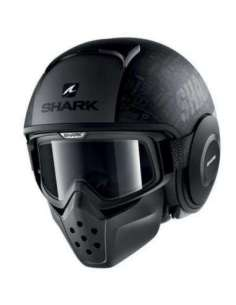 CASCO SHARK DRAK TRIBUTE KAA NEGRO MATE S