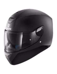 CASCO SHARK D-SKWAL NEGRO MATE S