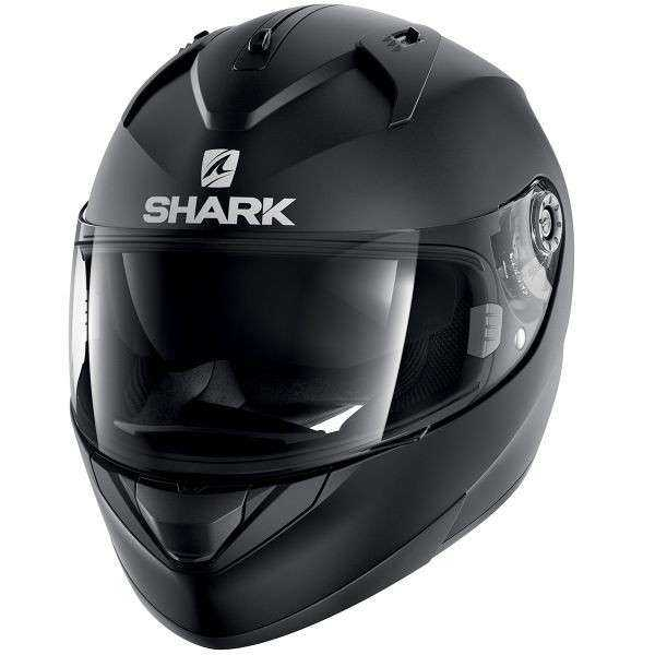 CASCO SHARK RIDILL NEGRO MATE S