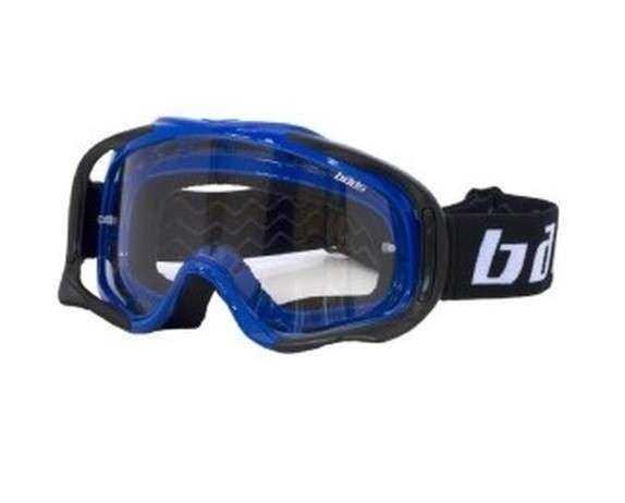 GAFAS CROSS BADS MX101 AZUL