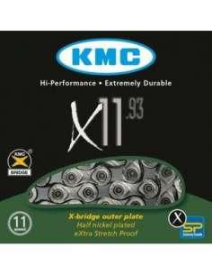 CADENA BICI KMC X11-93 11 VELOCIDADES 114P