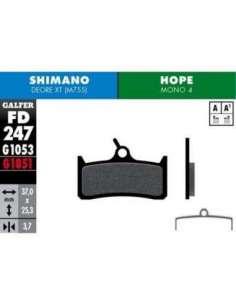 PASTILLAS FRENO BICI DISCO GALFER SHIMANO M755-HOP