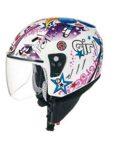 CASCO SHIRO JET TRES CHIC BLANCO