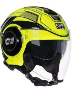 CASCO AGV FLUID SOHO AMARILLO