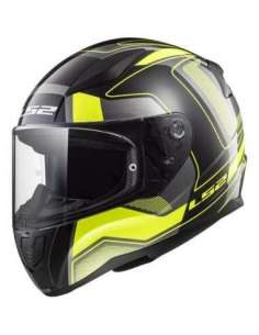 CASCO LS2 FF353 CARRERA AMARILLO