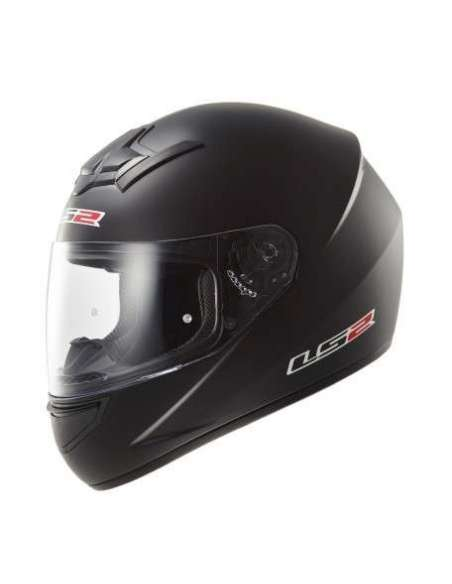 CASCO LS2 FF352 ROOKIE SOLID NEGRO METAL