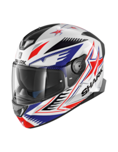CASCO SHARK SKWAL 2 DRAGHAL BLANCO