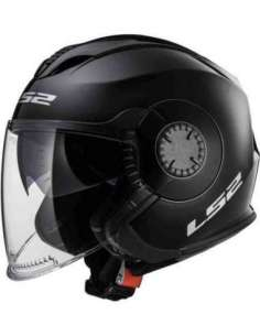 CASCO LS2 OF570 VERSO NEGRO MATE XS