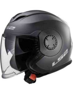CASCO LS2 OF570 VERSO TITANIO MATE S