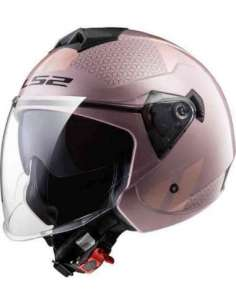 CASCO LS2 OF573 TWISTER COMBO ROSA