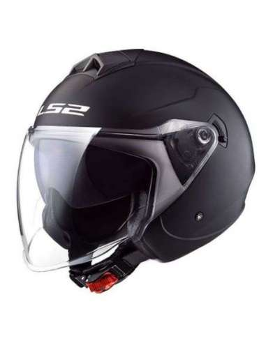 CASCO LS2 OF573 TWISTER NEGRO MATE