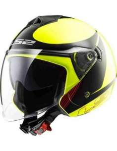 CASCO LS2 OF573 TWISTER PLAN AMARILLO