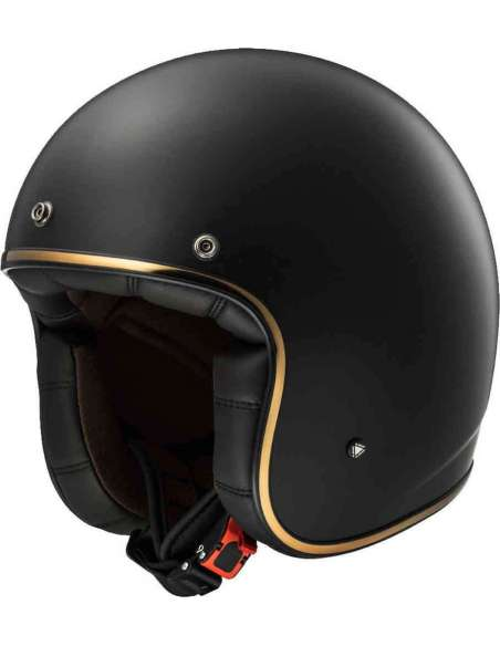 CASCO LS2 OF583 BOBBER NEGRO MATE