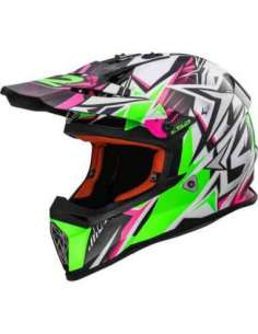 CASCO LS2 MX437 STRONG VERDE S