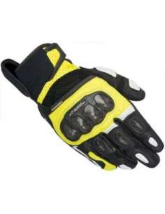 GUANTES ALPINESTARS SP X AIR CARBON NEGRO-FLUOR