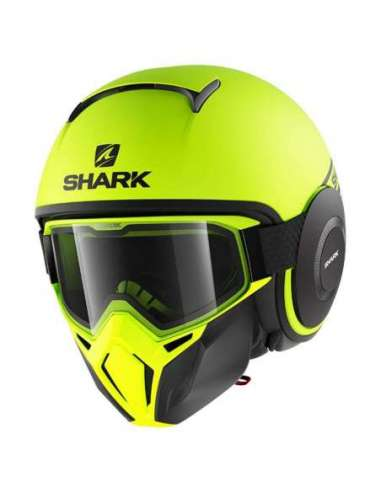 CASCO SHARK DRAK NEON AMARILLO