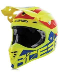 CASCO ACERBIS PROFILE 3.0 BLACKMAMBA AMARILLO S
