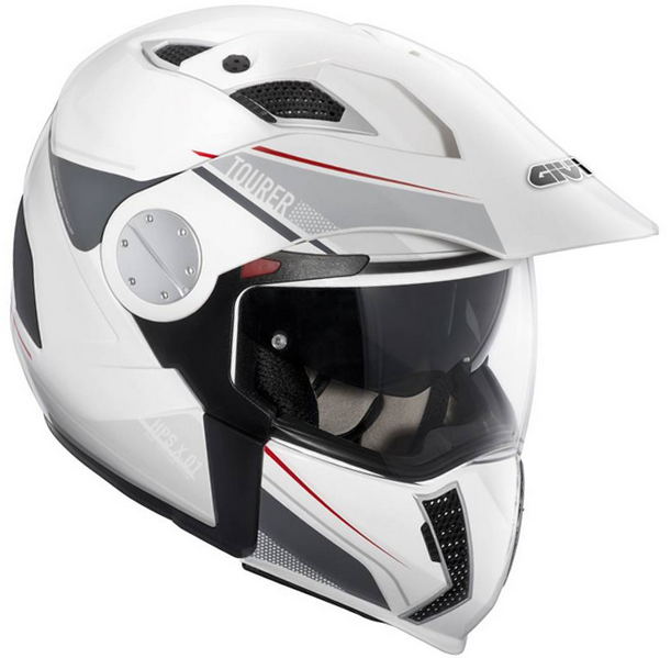 CASCO GIVI X.01 TOURER BLANCO