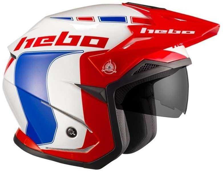 CASCO HEBO ZONE 5 LIKE AZUL S