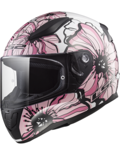CASCO LS2 FF353 POPPIES ROSA