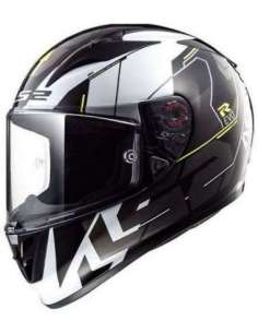 CASCO LS2 FF323 ARROW R TECHNO NEGRO