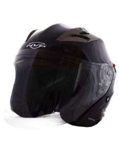 CASCO NVG JET OF726 CON GAFAS NEGRO MATE