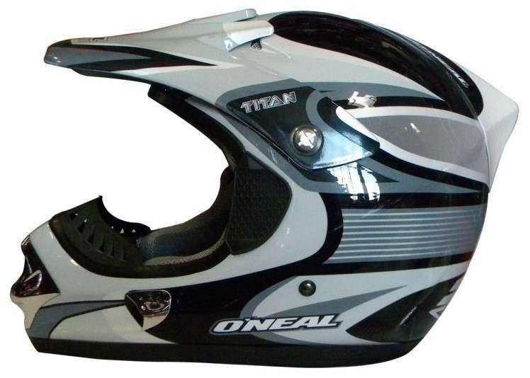 CASCO ONEAL TITAN CROSS GRIS