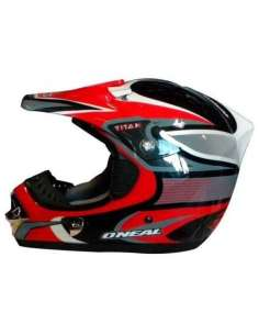 CASCO ONEAL TITAN CROSS ROJO