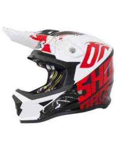 CASCO SHOT FURIOUS INFANTIL ROJO
