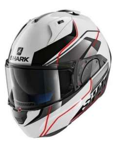 CASCO SHARK EVO ONE 2 KRONO NEGRO-ROJO