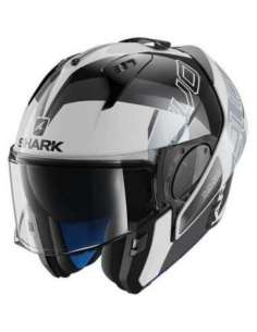 CASCO SHARK EVO ONE 2 SLASHER BLANCO