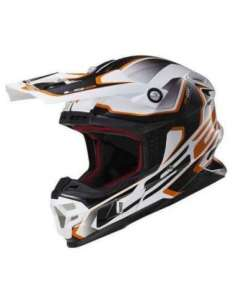 CASCO LS2 MX456 COMPASS NARANJA