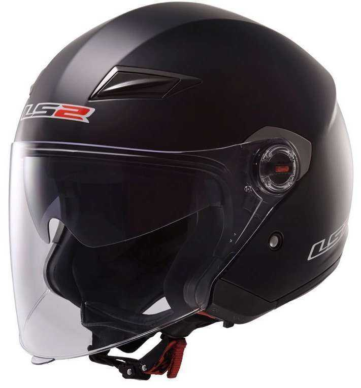 CASCO LS2 OF569.2 TRACK NEGRO MATE