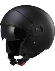 CASCO LS2 OF597 CABRIO NEGRO MATE