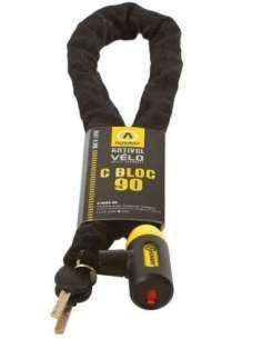CANDADO BICI CON CADENA INTEGRADA C-BLOC 90