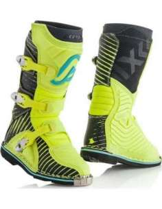 BOTAS ACERBIS X-KID SHARK AMARILLO