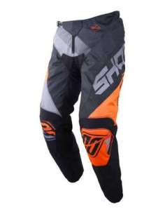 PANTALON SHOT ULTIMATE NEGRO-NARANJA