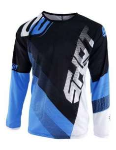 CAMISETA SHOT ULTIMATE NEGRO-AZUL