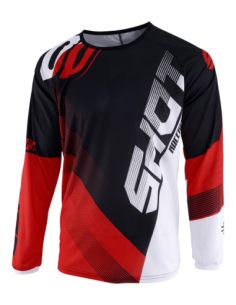 CAMISETA SHOT ULTIMATE JUNIOR ROJO