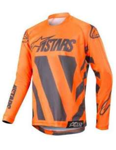 CAMISETA ALPINESTARS RACER BRAAP JUNIOR NARANJA