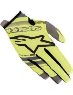 GUANTES ALPINESTARS RADAR JUNIOR AMARILLO